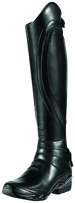 ARIAT - Womens Volant Tall Back Zip Show Boot ( 10007899 ) - Black - New