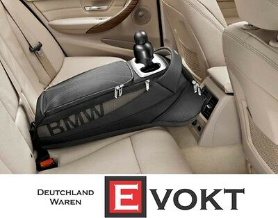 BMW 3 Series F30 F31  Storage Bag with Cup Holder Rear Seat GENUINE NEW