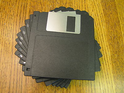 "10 ea. 3.5"" DS/DD Floppy Disk 720K IBM Formatted DSDD New Unused High Quality"
