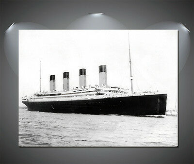 The Titanic Vintag Large Poster - A1, A2, A3, A4 sizes