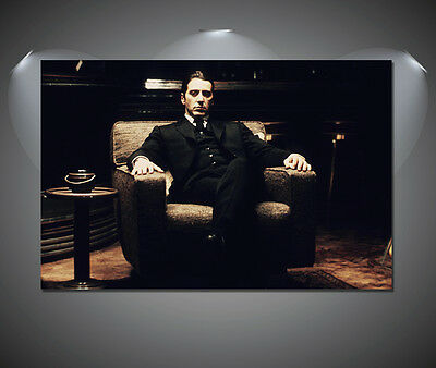 The Godfather Al Pacino Vintage Movie Large Poster - A1, A2, A3, A4 sizes
