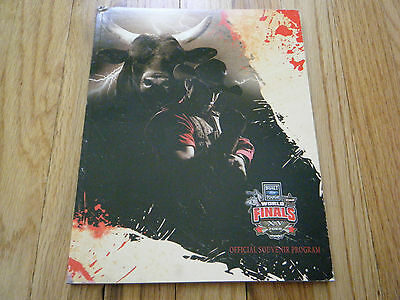 PBR Professional Bull Riders 2008 World finals Official Souvenir Program