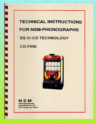 NSM ES-IV-CD FIRE Manual