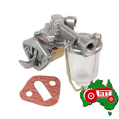 Tractor Fuel Lift Pump Glass Bowl Massey Ferguson 35, 135 With 3 Cylinder Engine