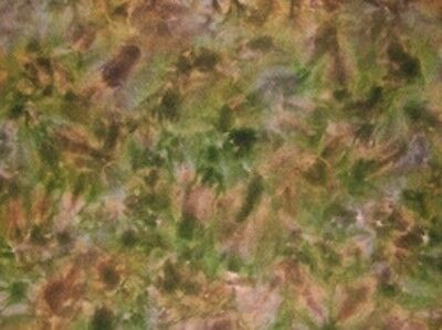 Forest Canopy  - Spot hand dyed rug hooking 100%  wool fabric - Fat Quarter