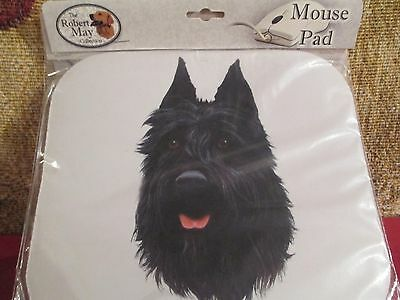 BOUVIER ~ MOUSE PAD by ROBERT MAY