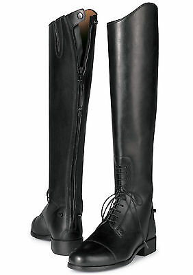 ARIAT - Women's Heritage II Back Zip Tall Boot - Black - ( 55001 ) - New
