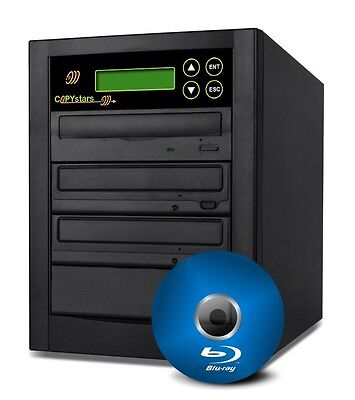 Copystars 1-3 Target 14X Blu-ray DVD CD BDXL burner Disc Duplicator Copier