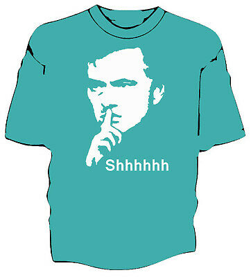 "Jose Mourinho ""Shhhh"" t-shirt Unofficial United"