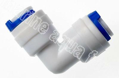 "RO UNIT 1/4"" PUSH FIT x 1/4"" PUSH FIT ELBOW, FILTER, MARINE AQUARIUM 6MM"