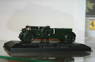 BENTLEY SPEED SIX  1st LE MANS 1929, échelle 1/43, Voitures d´exception