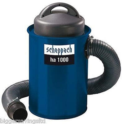 Scheppach Ha 1000 Dust Extractor Extraction C/w 5 Piece Coupling Kit, 240V