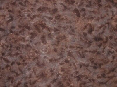 Calico - Spot hand dyed rug hooking wool fabric - Fat Quarter