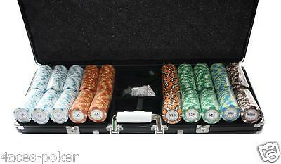 Poker Koffer 500 POKERSET Pokerkoffer MC Pokerclub Cash G. Poker Set