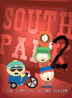 South Park - The Complete Second Season (DVD, 2003, 3-Disc Set, Three Disc Set)