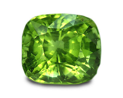 3.93 Carats Natural Peridot Loose Gemstone - Cushion