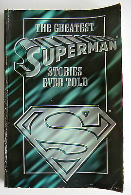 Rare 1St Ed 1995 Comic Book  - The Greatest Superman Stories Ever Told!