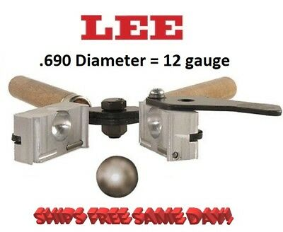 Lee 1-Cavity Bullet Mold (690 Diameter) Round Ball   # 90978   New!