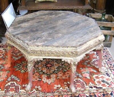 Antique Carved Asian Coffee Table | Occasional Table