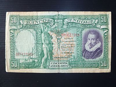 Angola Lot P-80 1944 50 Angolares F+ Add Collection
