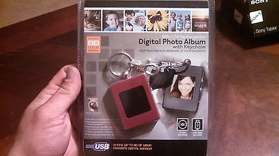 Innovage digital photo album WITH KEYCHAIN Digital Picture Frame 8mb 60 pictures