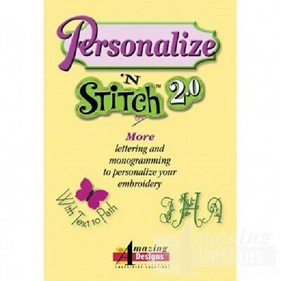Personalize N' Stitch 2.0 Embroidery Software