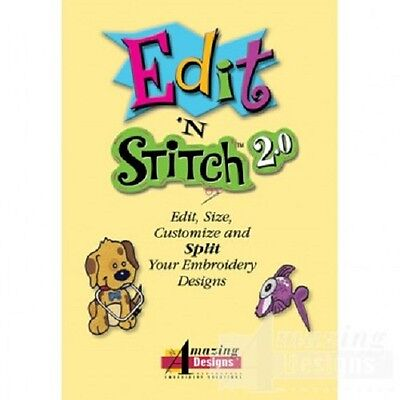 Edit N' Stitch 2.0 Embroidery Software
