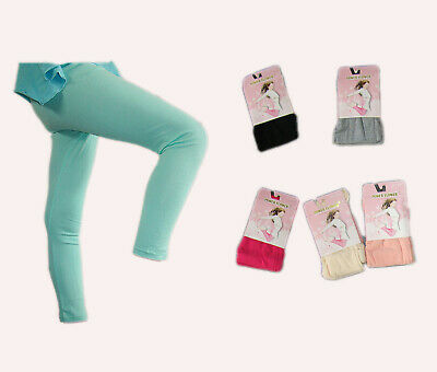 a09f0f88be Power Flower warme Kinder Leggings mit Baumwolle, Thermo, 1-12 Jahre, 6
