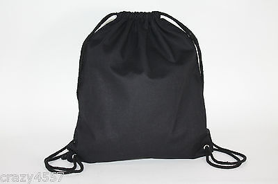 25 Cotton drawstring dance duffle rucksack swim bags