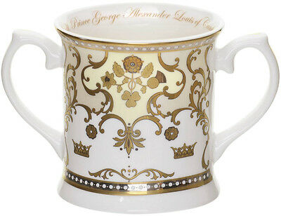 ROYAL WORCESTER ROYAL BABY 'PRINCE GEORGE OF CAMBRIDGE' LOVING CUP (BIRTH 2013)