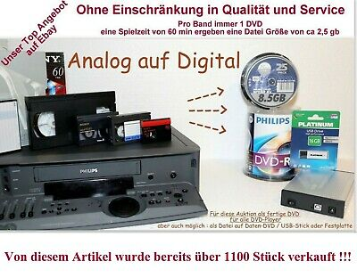 Video Kassetten digital Hi8 Digital8 Video8 VHS Super8 MiniDv MC-Tape VHS VHS-C