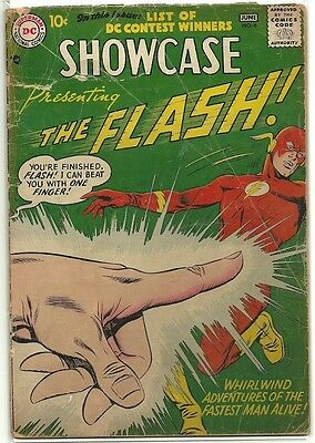Showcase # 8 [2ND SILVER AGE FLASH] FR/GD