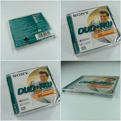 GENUINE Sony 8cm Mini DVD+RW 1.4GB SINGLE disc 30 min