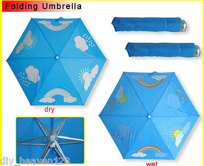 Colour Changing Umbrella - Rainbow - Brand New
