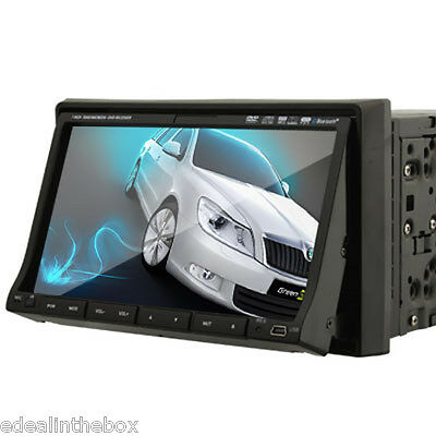 """2 Din 7"""" Touch Screen Car Stereo Radio DVD CD Player In Dash MP3"""
