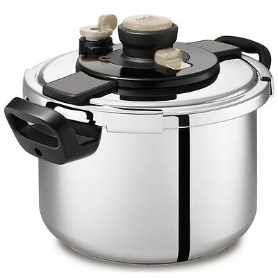 NEW Tefal - Clipso One 6 Litre Pressure Cooker Made in France RRP 349