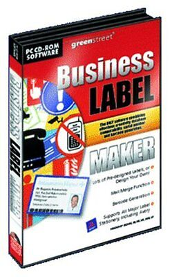 PC CD Rom Software Business Label Maker