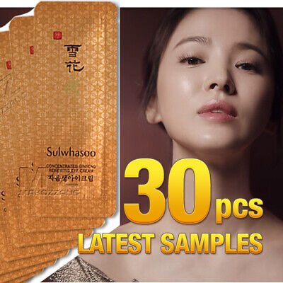 Sulwhasoo Concentrated Ginseng Renewing Eye Cream 30pcs 30ml Amore Pacific +Gift