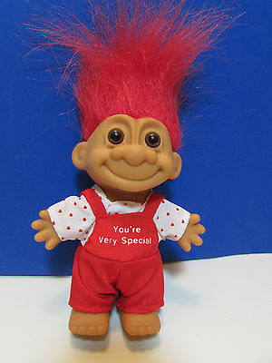 """YOU'RE VERY SPECIAL BOY - 5"""" Russ Troll Doll - NEW IN ORIGINAL WRAPPER"""