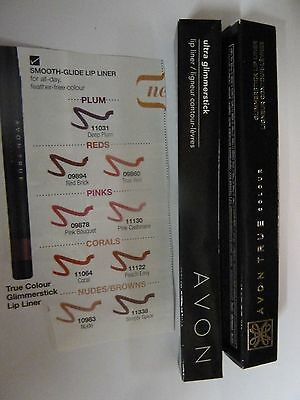 Avon True Colour / Glimmerstick Lipliners ~ 9 Shades To Choose From ~ Brand New