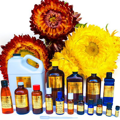 Helichrysum Essential Oil - 100% PURE NATURAL UNCUT - Sizes 3 ml to 16 oz