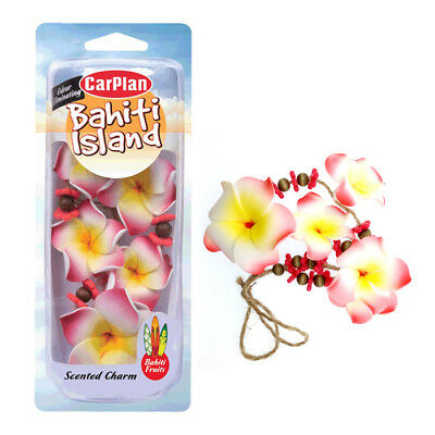Flower Necklace Charm Air Freshener Freshner Car Home Office - Bahiti Fruits