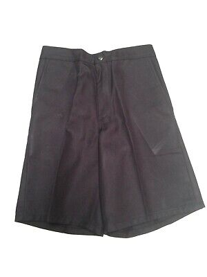 Boys & Mens Pleat Front School Short $44.95 Slashed To $10.00 Bsh01/sb0970/904
