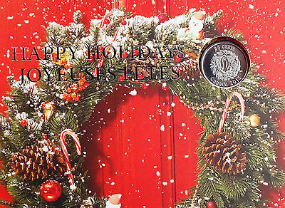 2013 Holiday Gift Set (5-coin) from Royal Canadian Mint WITH HOLIDAY QUARTER!