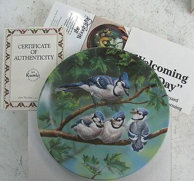 Welcoming A New Day - Knowles Collectible Plate