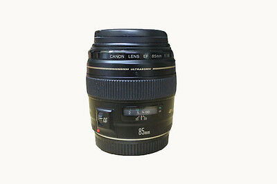 Canon EF USM 85mm / 85.8 / F/1.8 Lens For Canon