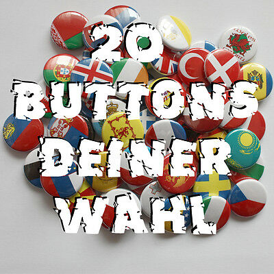 20 Buttons deiner Wahl !!! Button Badge Pin Angebot! Punk Gothic Metal FUN Rock