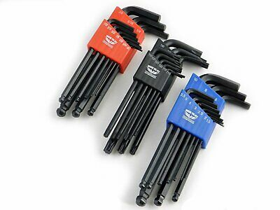 Allen Key Set, 20pc hex set. Imperial & Metric hex set. Long arm, Ball End
