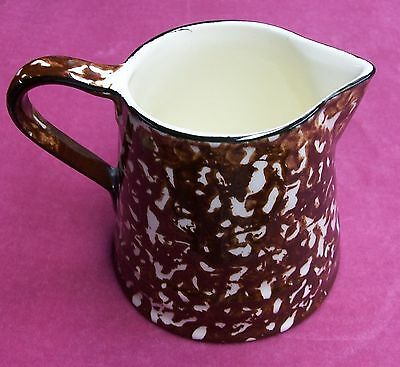 STANGL TOWN AND COUNTRY BROWN CREAMER