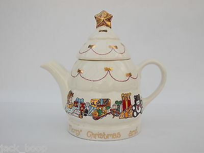 Wade Christmas Teapot 2 Cup Size  Proof Edition Made For Boots